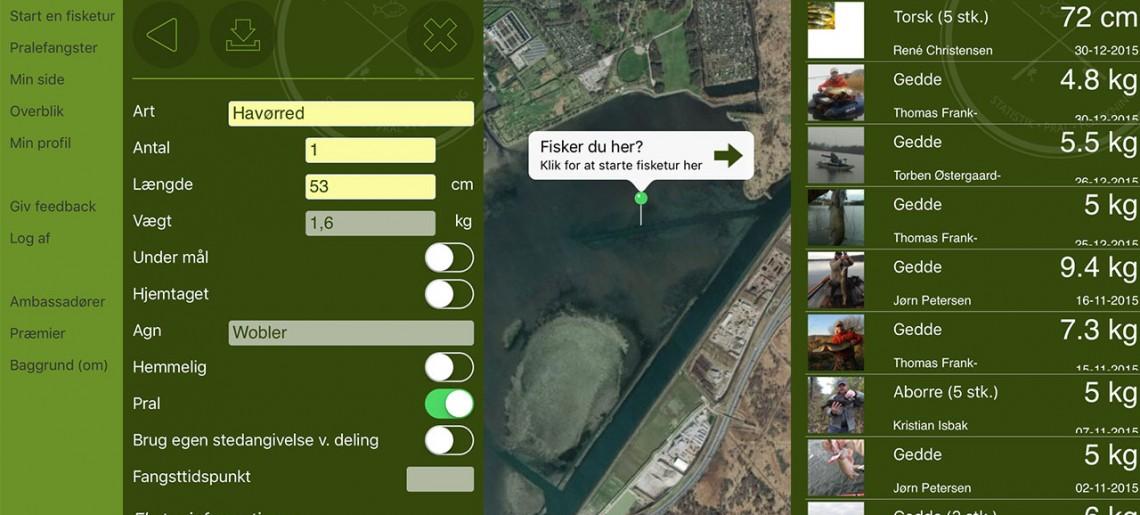 Fangstjournalen – en spændende app fra fiskepleje.dk